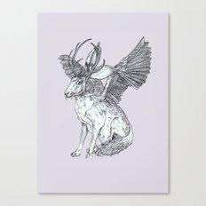 The Wolpertinger Canvas Print