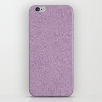 Abstract #002 Cells (Lavender)  iPhone & iPod Skin