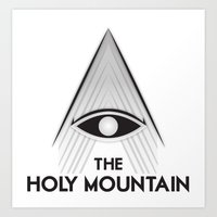 The Holy Mountain - Alejandro Jodorowsky Art Print