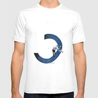 Curve Mens Fitted Tee White SMALL
