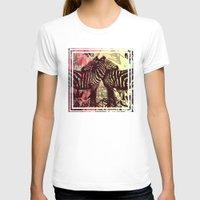 zebra T-shirts featuring ZEBRA by Nechifor Ionut