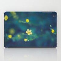 yellow wildflowers iPad Case