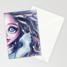 Winter Twins Stationery Cards