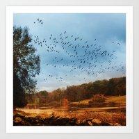 Migrations. Art Print