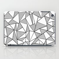 Abstraction Lines Black … iPad Case