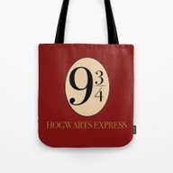 Tote Bag featuring HARRY POTTER by Sophie