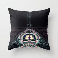 Magic Space Throw Pillow