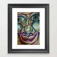 Finite Framed Art Print