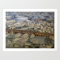 Rome in the Time of Constantine2 Art Print