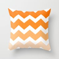 Ombre Chevron- Dreamsicl… Throw Pillow