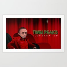 The Man from another place Cover Art Print