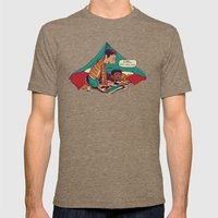 Troy & Abed's Dope Adventures Mens Fitted Tee Tri-Coffee SMALL