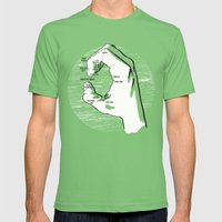 A Handy Map of The Bay Mens Fitted Tee Grass SMALL