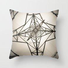 Electricity Throw Pillow