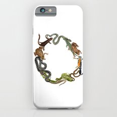 Reptile Wreath iPhone 6 Slim Case