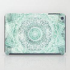 DEEP MINT MANDALA iPad Case