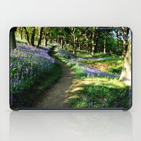 Bluebell Woods iPad Case