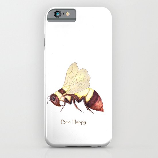 Bee Happy iPhone & iPod Case