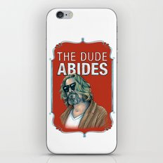 BIG LEBOWSKI- The Dude A… iPhone & iPod Skin