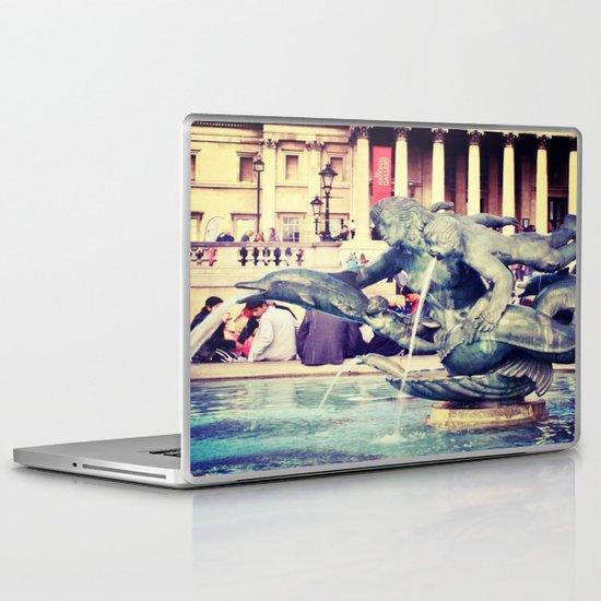 Fountain of Angels Laptop & iPad Skin