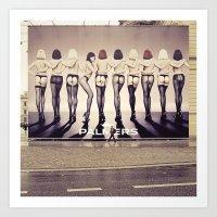 Delightful Bum Ehm Citys… Art Print