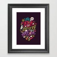 The Cool Pothead Dream Framed Art Print