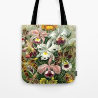 Tote Bag featuring Vintage 1865 Botanical O… by Cheryl Daniels