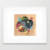 Blooming #2 Framed Art Print
