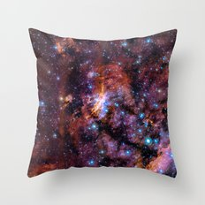 The Prawn Nebula Throw Pillow
