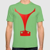 Silhouette Racers - Ferrari 458 Mens Fitted Tee Grass SMALL