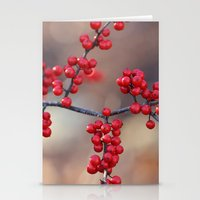 Berry Sparkles Stationery Cards