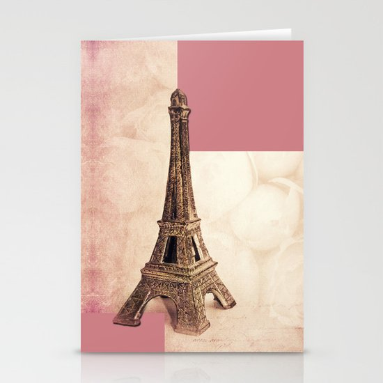 PARIS ~ MON AMOUR Stationery Card