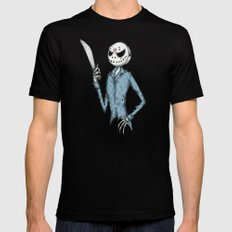 Jack The 13th Fine Art Print Black SMALL Mens Fitted Tee