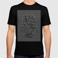 Dark Division Mens Fitted Tee Black SMALL
