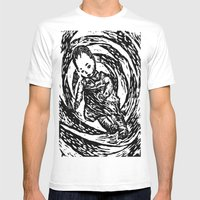 Twisted Child Mens Fitted Tee White SMALL