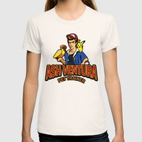 Ash Ventura Womens Fitted Tee Natural SMALL
