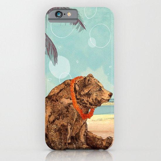 Beach Bear iPhone & iPod Case