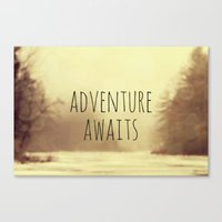 Adventure Awaits II Canvas Print