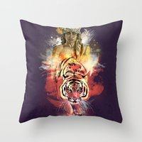 Inner Beast  Throw Pillow