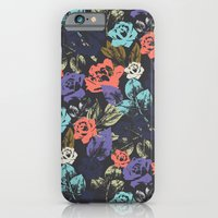 iPhone & iPod Case featuring Midnight Garden Pop by Femi Ford