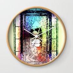 Window, Encinitas, California #2 Wall Clock