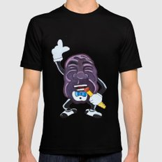 My Husband's Raisin Black SMALL Mens Fitted Tee