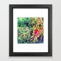 greenhouse vibes Framed Art Print