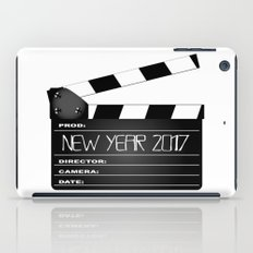 New Year 2017 Clapperboard iPad Case