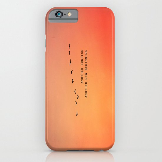 Another Sunrise Another New Beginning  iPhone & iPod Case