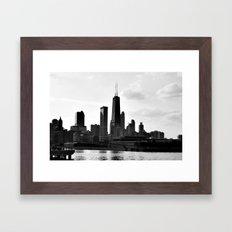 Chi-town Framed Art Print