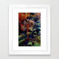Yalnız Ağaç Framed Art Print