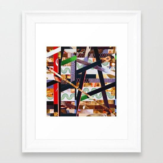 Ruben (stripes 19) Framed Art Print