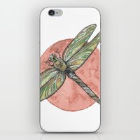 Dainty Dragonfly iPhone & iPod Skin