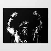 Warrior!!! Canvas Print